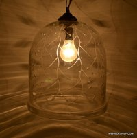 Clear Glass Hanging Lamp Shades For Home Decorative