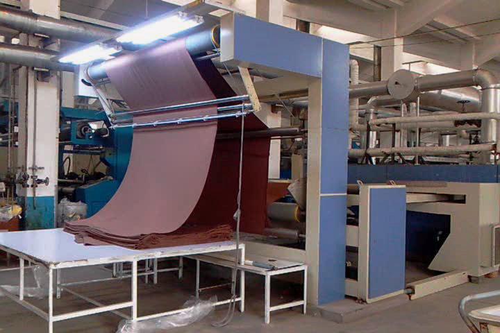 Heat Setting Stenter Machine