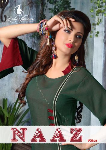 Namo Rayon Designer Kurtis