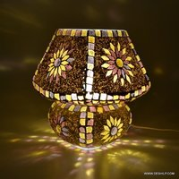 Mosaic Handmade Decorative Multicolored Crystal Table Lamp Home Decor Beautiful Gifts