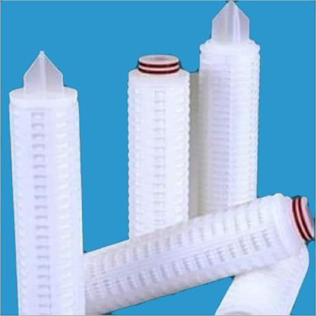 PP PTFE PLEATED FILTER CARTRIDGE