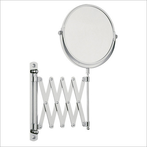 Extendable Magnifying Shaving Mirror