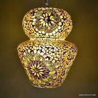 Mosaic GLASS HANGING, DECORATIVE GLASS HANGING