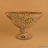 Decorative Mosaic Flower Vase
