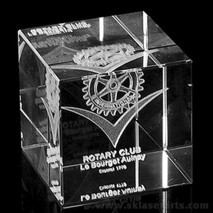 Laser Etching Cube