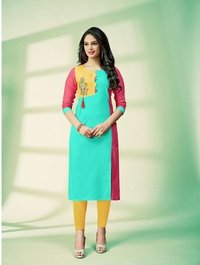 Readyment Ladies Rayon Kurtis