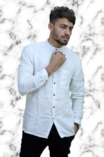 White Linen Shirt