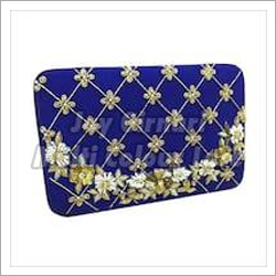 Clutch Hand Work Lace