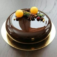 Buton Chocolate Glaze