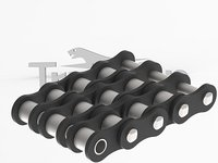 Triple Strand Roller Chain