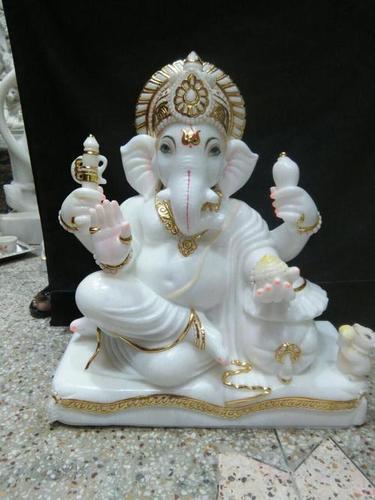 Ganesh Marble Moorti