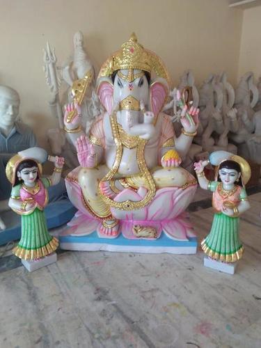 Marble Ganesh Ji Sculpture