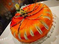 Buton Orange Glaze