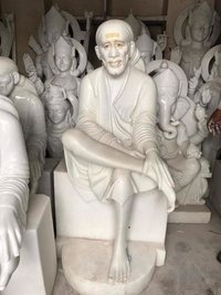 Marble Sai Baba Mooti