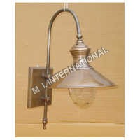 Antique Brass Wall Lamp
