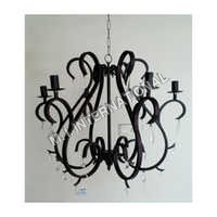 Metal Six Arms Chandelier