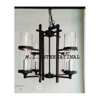 Four Light Pendant Chandelier