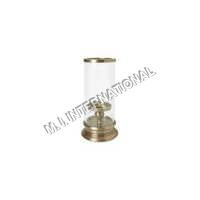 Glass cylinder Candle Holder