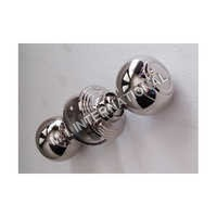 Nickel Plain Door Knob