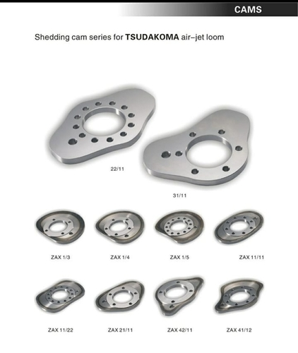 Shedding Cam Series For TSUDAKOMA Air Jet