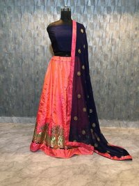Embroidery Work Lahenga choli