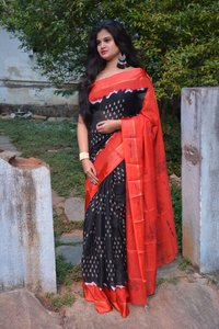 super soft Kota cotton sarees with satin borders (DNHSILK12)