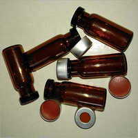 2ml Amber Crimp Vials Aluminium Crimp Cap 11mm SEPTA