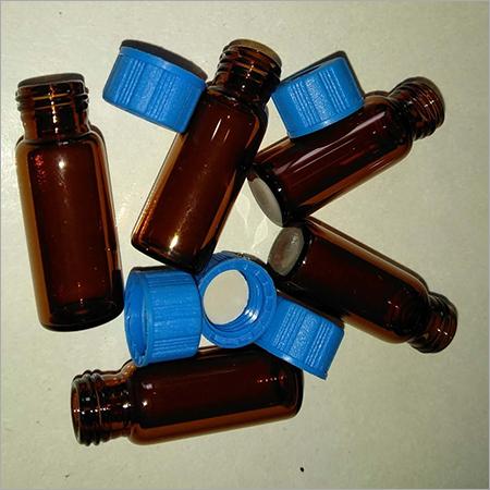 2ml Amber Screw Vials Blue Screw Cap PTFE Silicon Septa 9mm