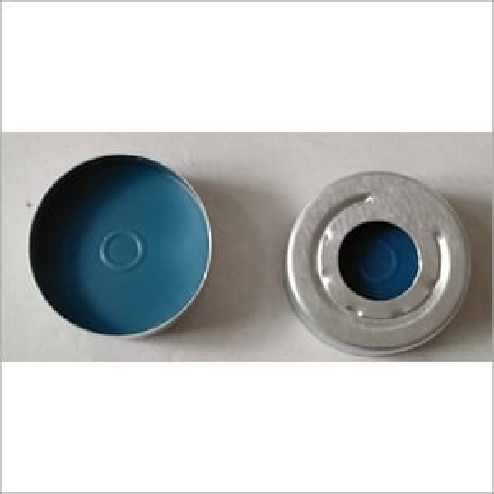 20mm Blue PTFE Silicon Septa