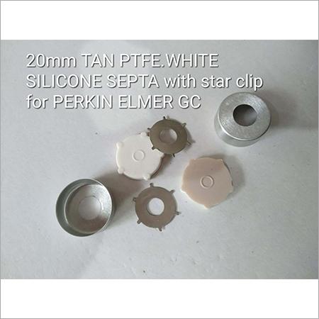 20mm Tan PTFE White Silicon Septa