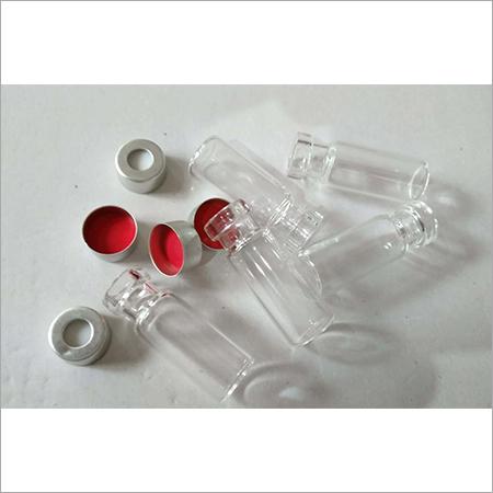 2ml Clear CRIMP Vials, 11 mm PTFE Silicon Septa