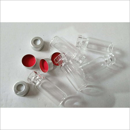 2ml Clear CRIMP Vials, 11 mm PTFE Silicon Septa