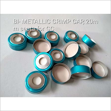 BI Metallic Crimp Cap 20mm Septa for GC