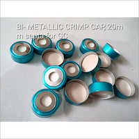 BI Metallic Crimp Cap 20mm Septa for GC