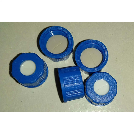Blue Screw Cap 9mm PTFE Silicon Septa