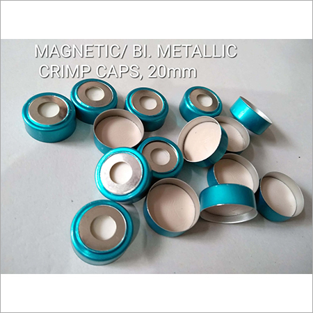Magnetic BI Metallic Crimp Caps 20mm