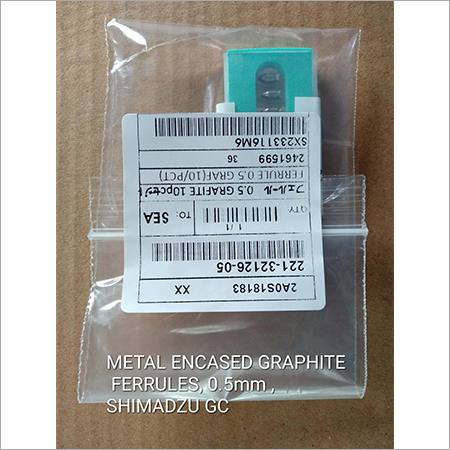 mETAL eNCASED gRAPH ITE fERRULES 0.5MM SHIMADZU GC