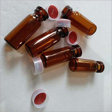SNP VIALS Amber 2ml Snap Cap PTFE Silicon Septa 11mm