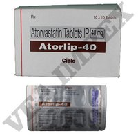 Atorlip 40 mg Tablets