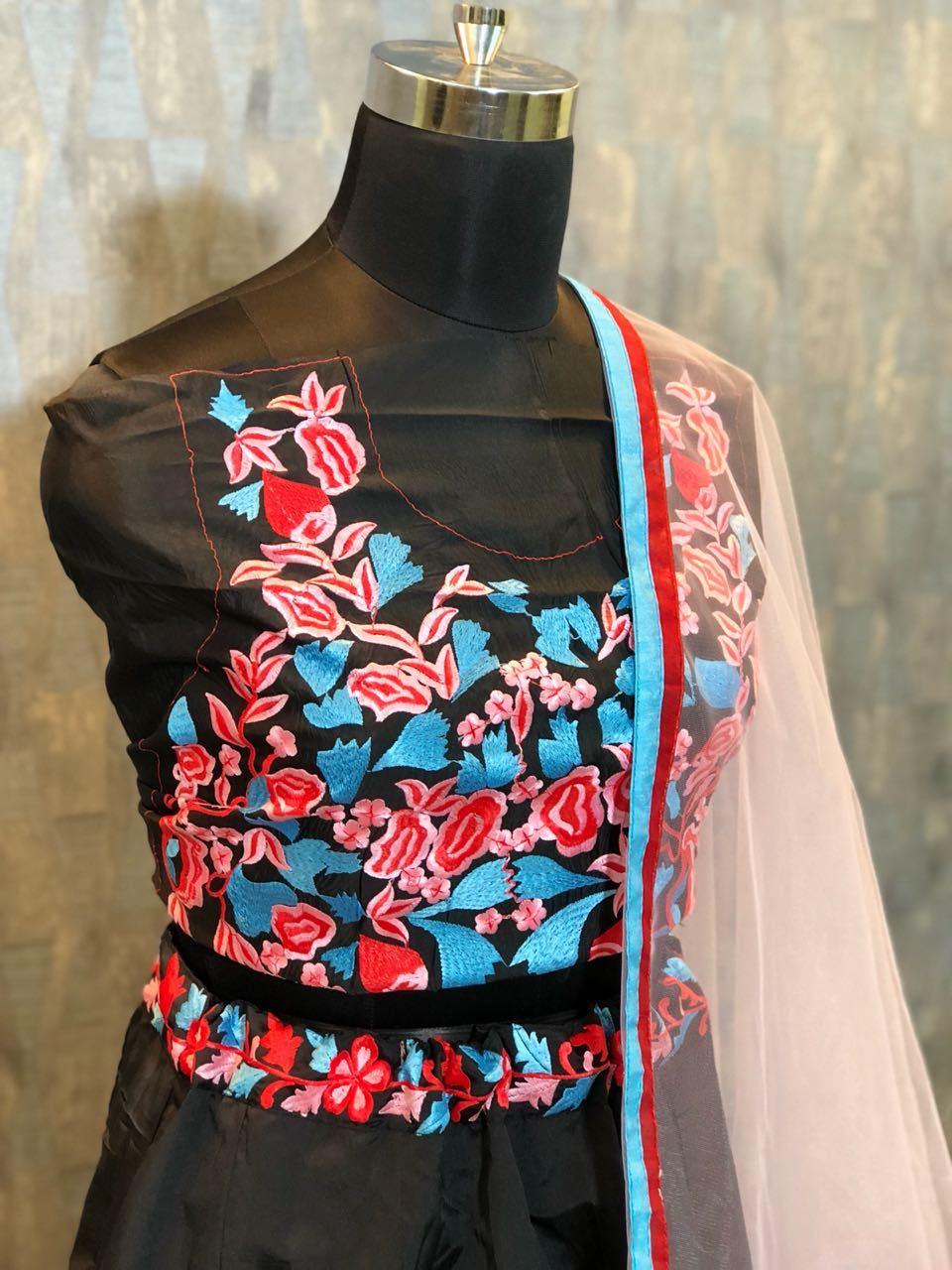 Designer  Black Lehenga Surat
