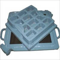 Steel Chequired Tiles Mould