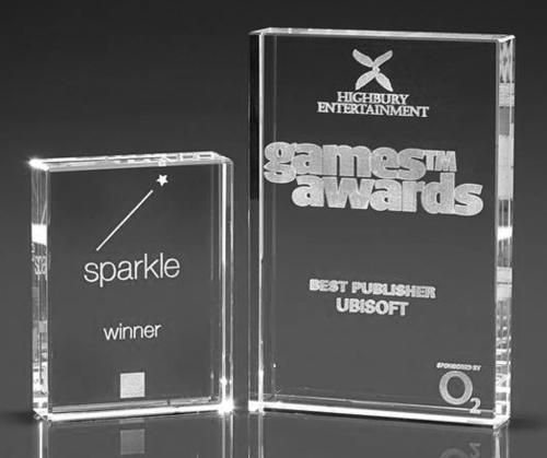 3D Engraved Awards