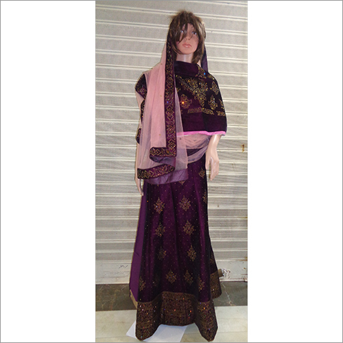 Ladies Semi Stitched Lehenga Choli