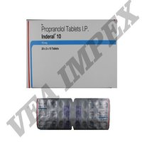 Inderal 10 mg Tablets