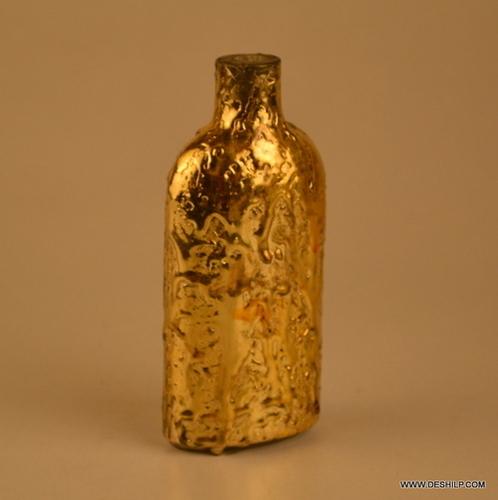 Silver Glass Bottle, Decanter,Vintage Decanter Bottle Crystal Shaped Shot Glasses