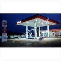 Essar Petrol Pump Canopy Manufacturer,Supplier in Indore