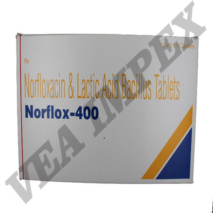 Norflox 400 mg Tablets