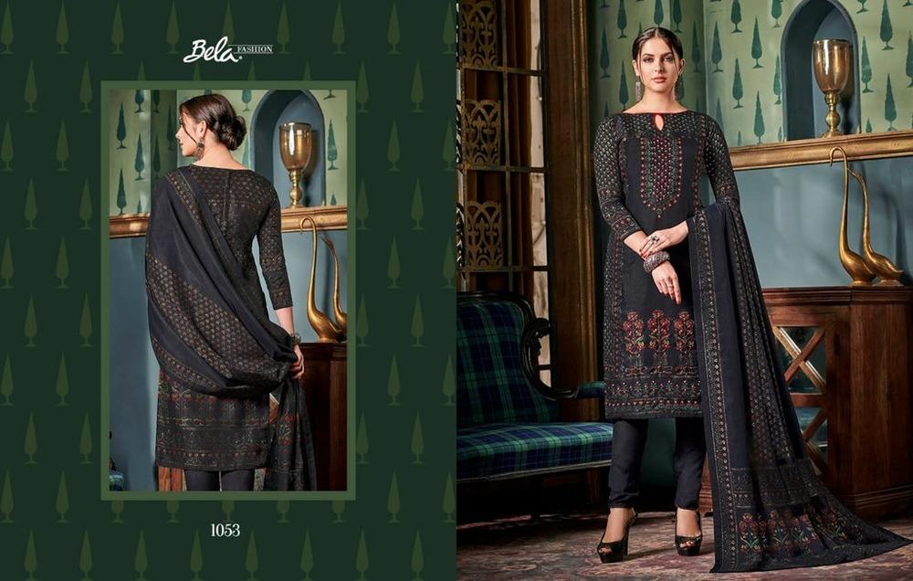 a275e39d76 Printed Tussar Silk Salwar Kameez - Printed Tussar Silk Salwar ...
