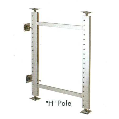 H Pole Cabinet System