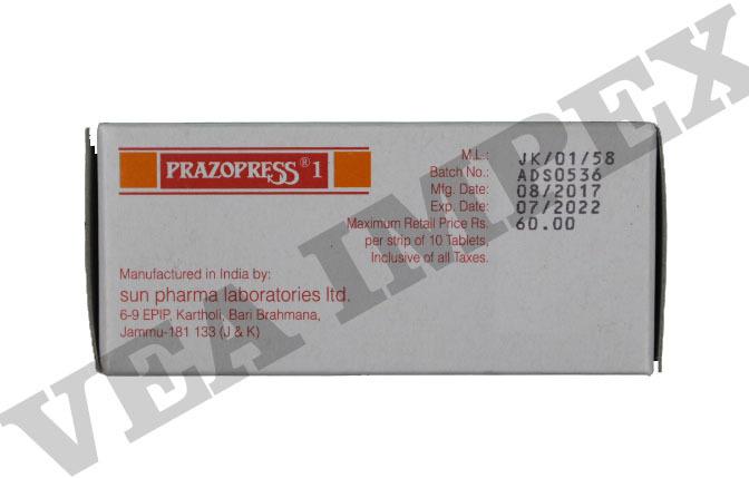 Prazopress1 Tablets